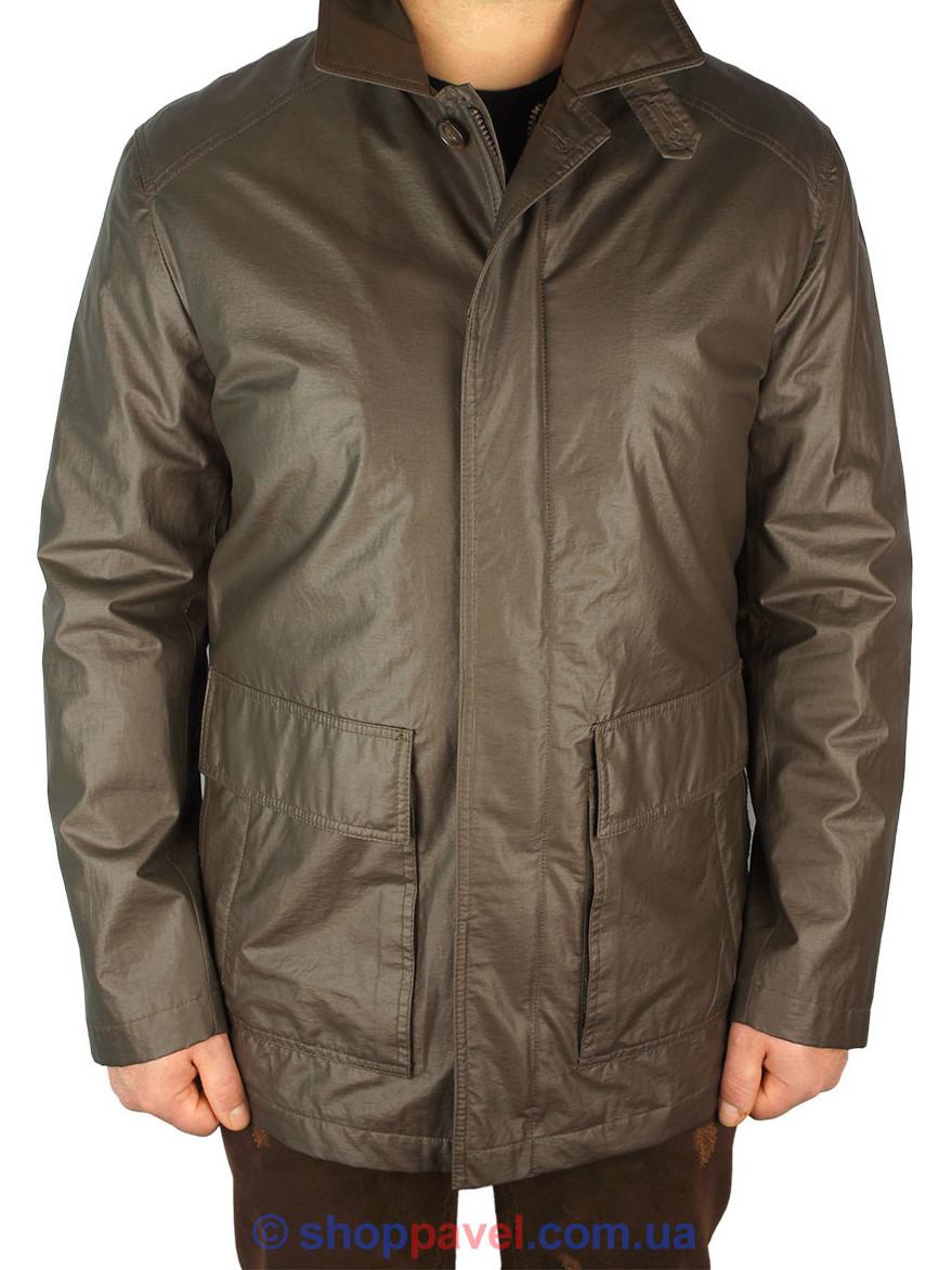Чоловіча куртка демісезонна Black Lion 3532-B6 в коричневому кольорі