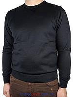 Класичний чоловічий светр Taddy 0250 Н коло темно-синього кольору