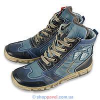 Чоловіче зимове взуття Kacper 3-4700 синього кольору