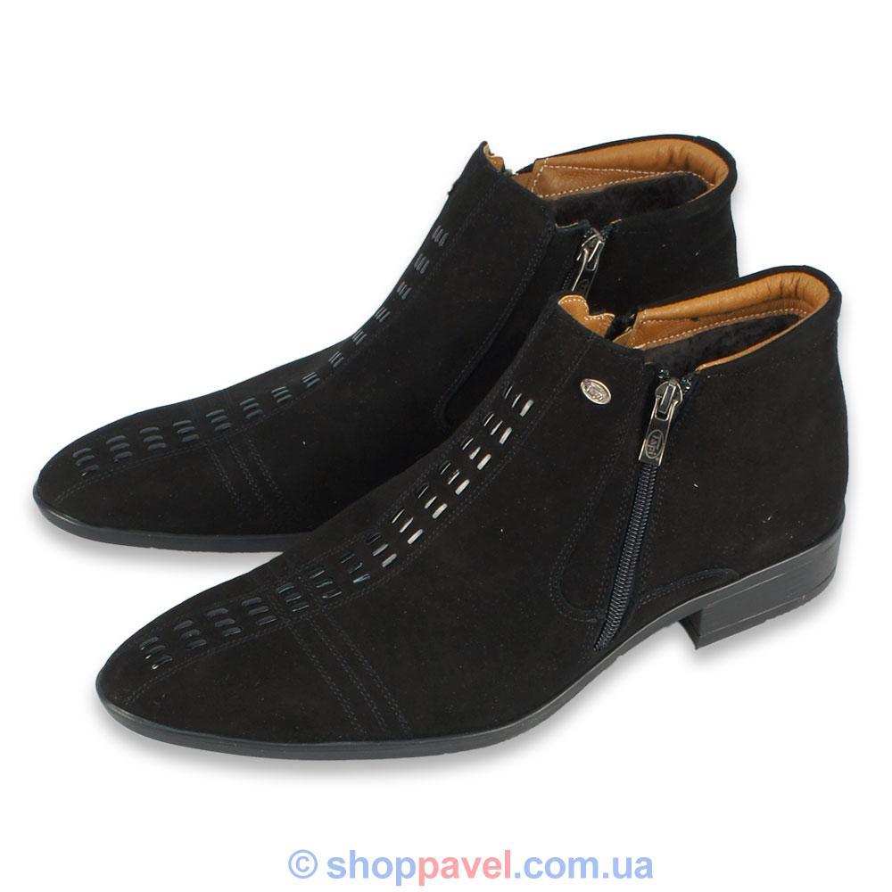 b270530beb47d8 Чоловіче зимове взуття Tapi 2122 замша (челсі) - Магазин великих розмірів  5XL в Сумской