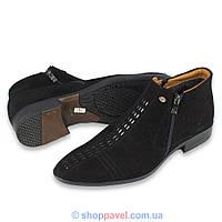 Чоловіче зимове взуття Tapi 2122 замша (челсі)