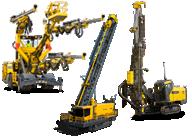 Буровые установки и перфораторы - Буровые станки для горнодобывающей и строительной отраслей