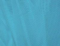 Стрейч-сетка бирюзово-голубая