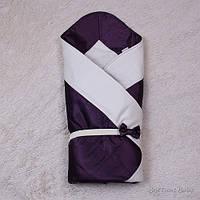 Демисезонный конверт для новорожденного, Beauty-violet