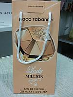 Подарочный набор парфюмерии Paco Rabanne Lady Million