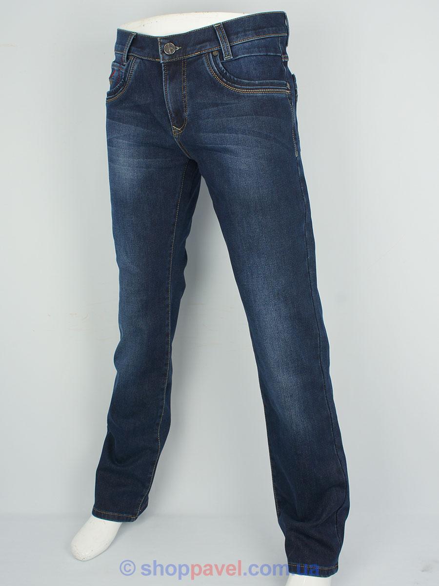 Стильні чоловічі джинси X-Foot 140-1712 на флісі