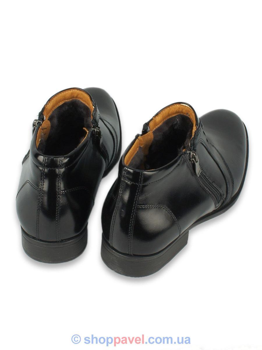 85fa1db3e0183e Чоловіче зимове взуття Tapi 2216 чорного кольору, цена 2 279,90 грн./пара,  купить Білопілля — Prom.ua (ID#543780172)