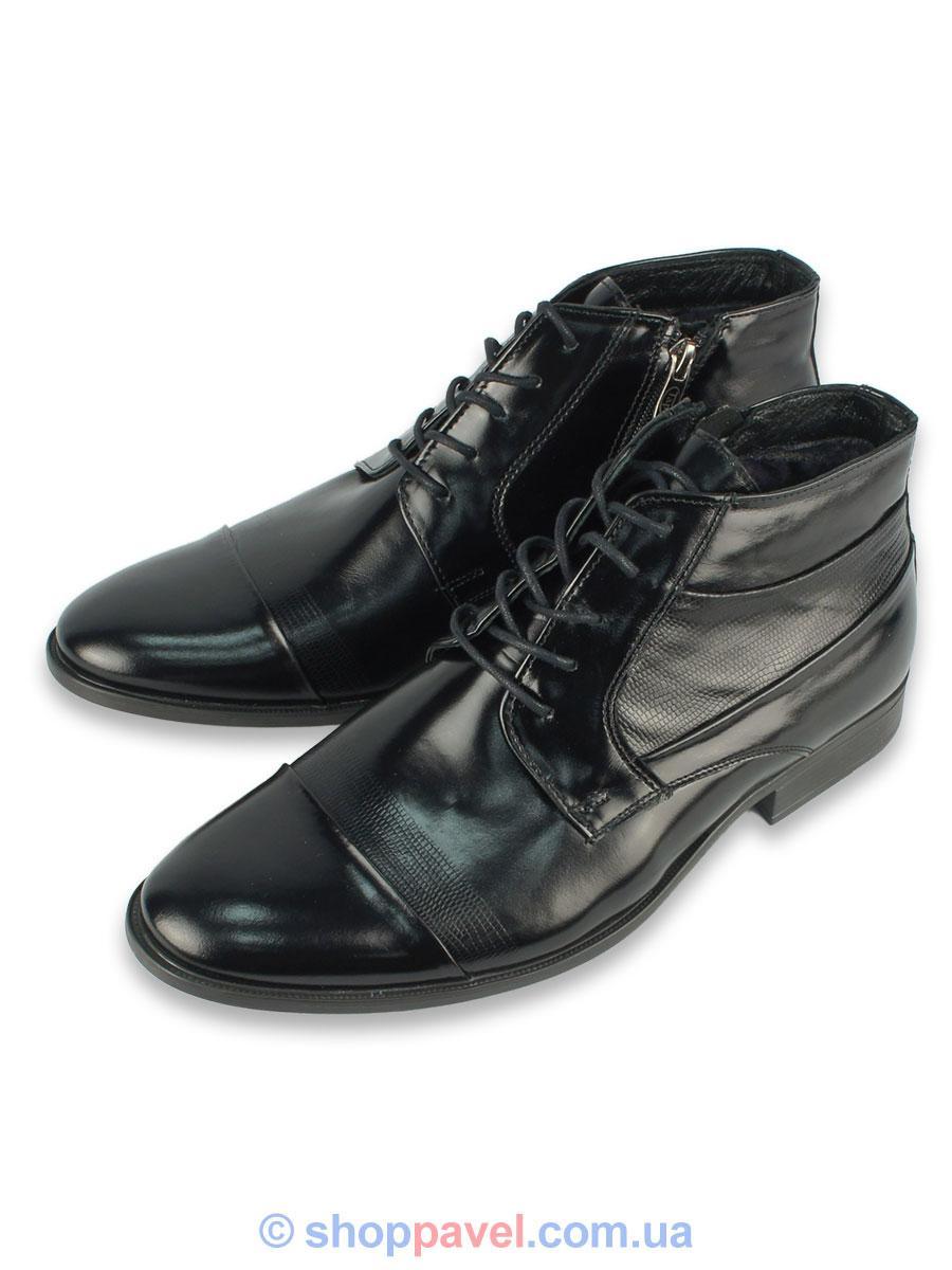 b44636618c4950 Чоловіче зимове взуття Tapi 2198 на натуральному хутру - Магазин великих  розмірів 5XL в Сумской области