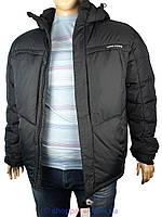 Чоловіча зимова куртка Tiger Force TFB41-WD184NNZ#1 в чорному кольорі