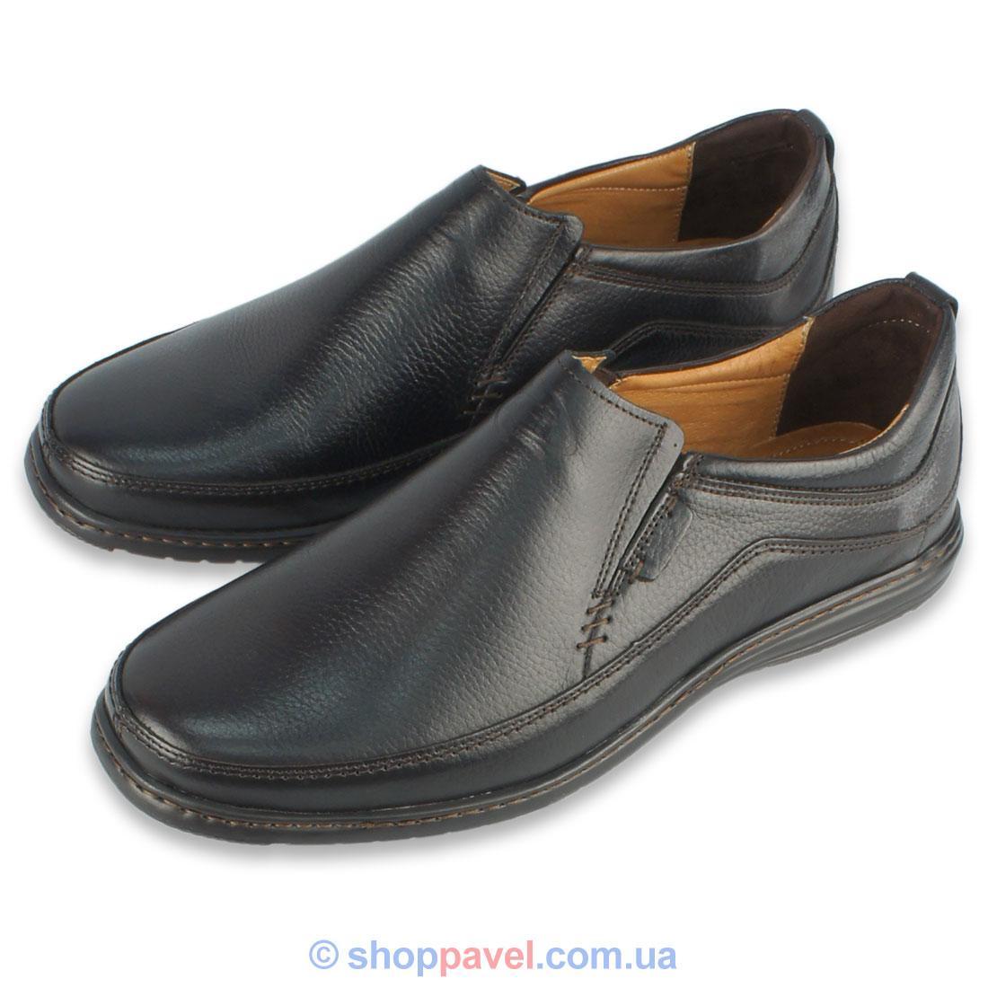 Туфлі чоловічі Lemi 315 коричневого кольору