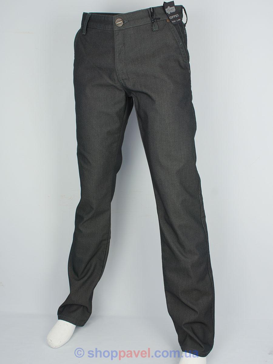 Зимові чоловічі джинси Differ E-1770 SP.865-11 в сірому кольорі