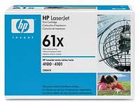 Картридж HP 61X LJ 4100 Black (10000 стр)