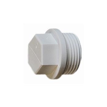 Заглушка с резьбой pp-r ду20*1/2н Alfa Plast