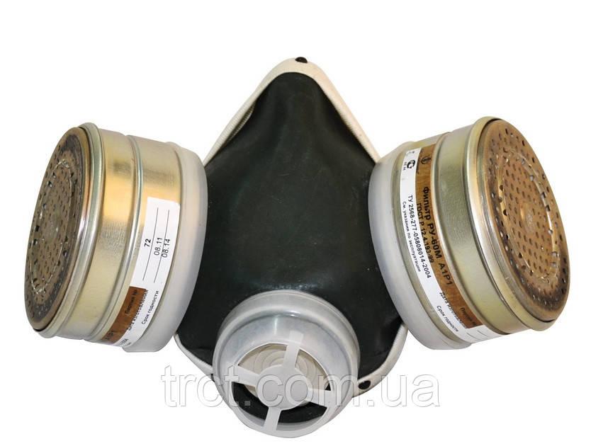 Респіратор пилогазозахисний РУ-60М марок А1Р1