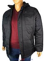 Чоловіча зимова куртка Santoryo WK 7108 B в чорному кольорі