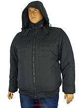 Чоловіча зимова куртка Hewer HK 1755 B в великому розмірі