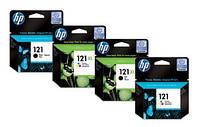 Картридж HP No.121 black simple