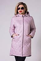 Удлиненная куртка женская Damader №761, фото 1
