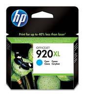 Картридж HP No.920XL OJ6000/6500/7000/7500 cyan