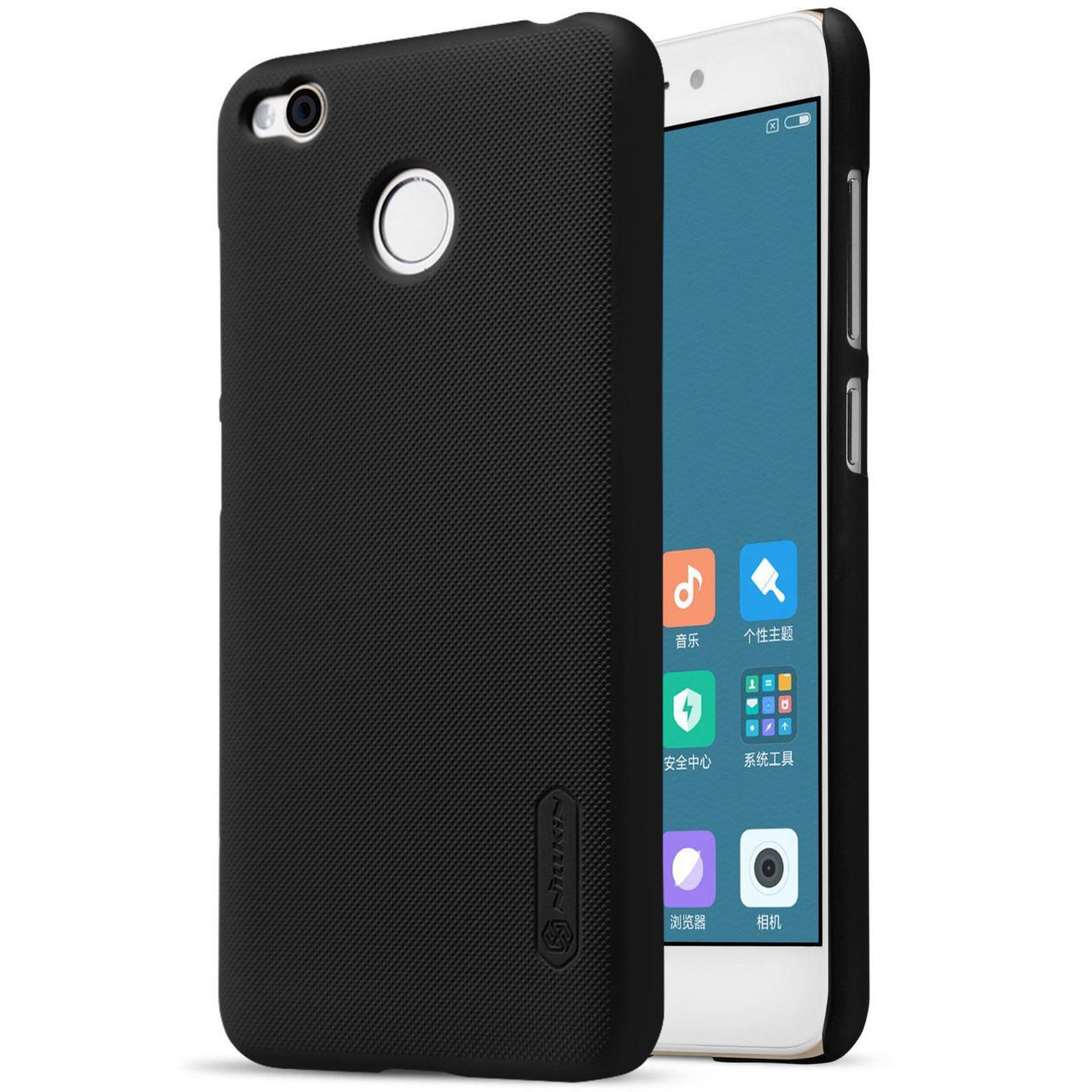 Nillkin Xiaomi Redmi 4X Super Frosted Shield Black Чохол Накладка Бампер