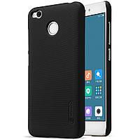 Nillkin Xiaomi Redmi 4X Super Frosted Shield Black Чехол Накладка Бампер