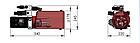 Комплекти гідравліки з електричним приводом на мобільні ножичні платформи (Mobile Scissor Platform), фото 2