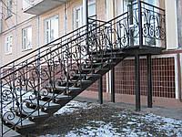Лестница маршевая