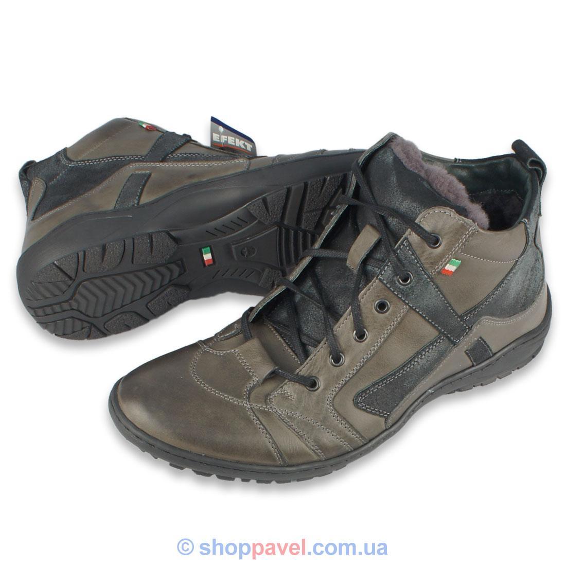 Зимове чоловіче взуття Efekt 201