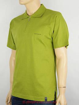 Чоловіча теніска Imako-Sfora 0180 зеленого кольору 100% бавовна
