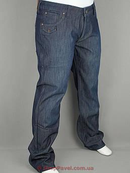 Чоловічі джинси Climber 0003 в синьому кольорі на флісі