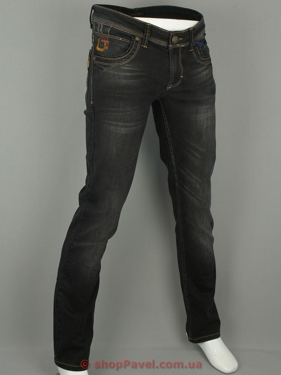 Стильні чоловічі джинси Differ E-2123-3 SP.0630-13 в темно-сірому кольорі