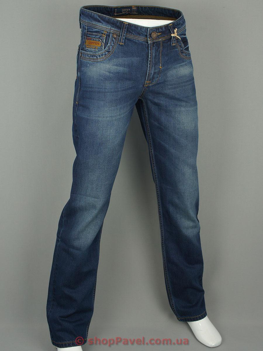 Чоловічі джинси Differ E-2135-1 SP.0409-13 темно-синього кольору