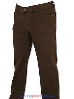Коричневі чоловічі джинси Differ E-2303 SP.NO 0419 у великому розмірі