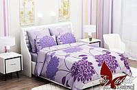 Постель для дома. 1,5-спальный комплект постельного белья. Ткань Ранфорс. Комплект постельного белья.