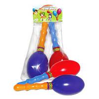 Маракасы, 14,5*21*6см, (60шт), ТМ M-toys