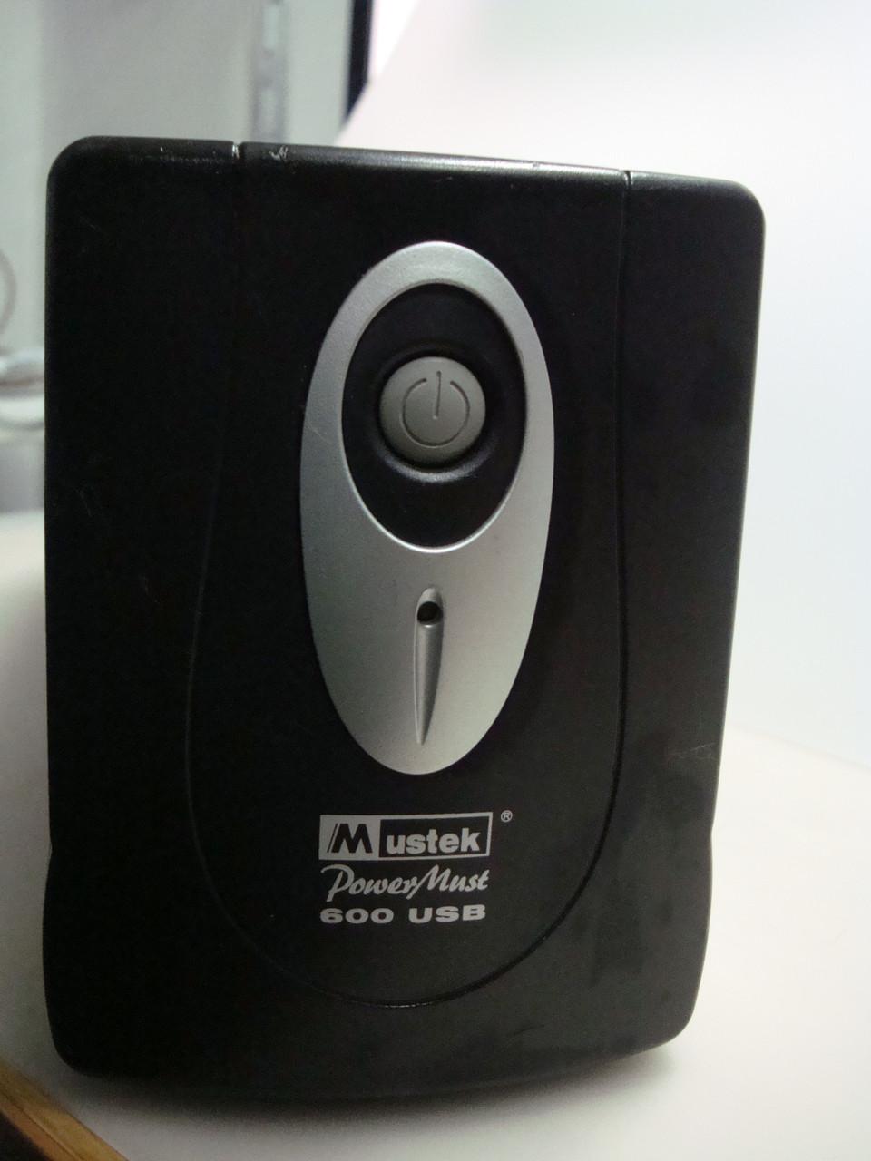 Источник бесперебойного питания Mustek PowerMust 600 USB Без акб