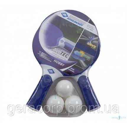 Набор для настольного тенниса Alltec Hobby Outdoor 2-Player Set, фото 2