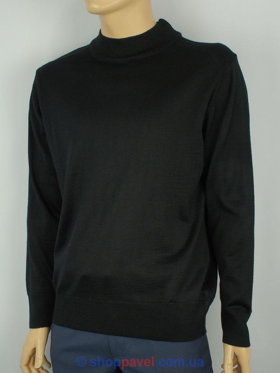 Чоловіча водолазка Wool Yurt 250 в чорному кольорі