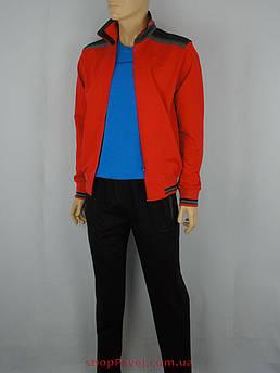 Чоловікчий червоний спортивний костюм Fabiani 14ВЕ3Е3757 red