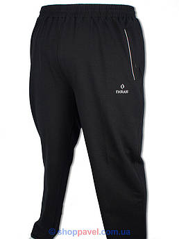 Чоловічі спортивні брюки Fabiani  14KE3P3755 black чорного кольору