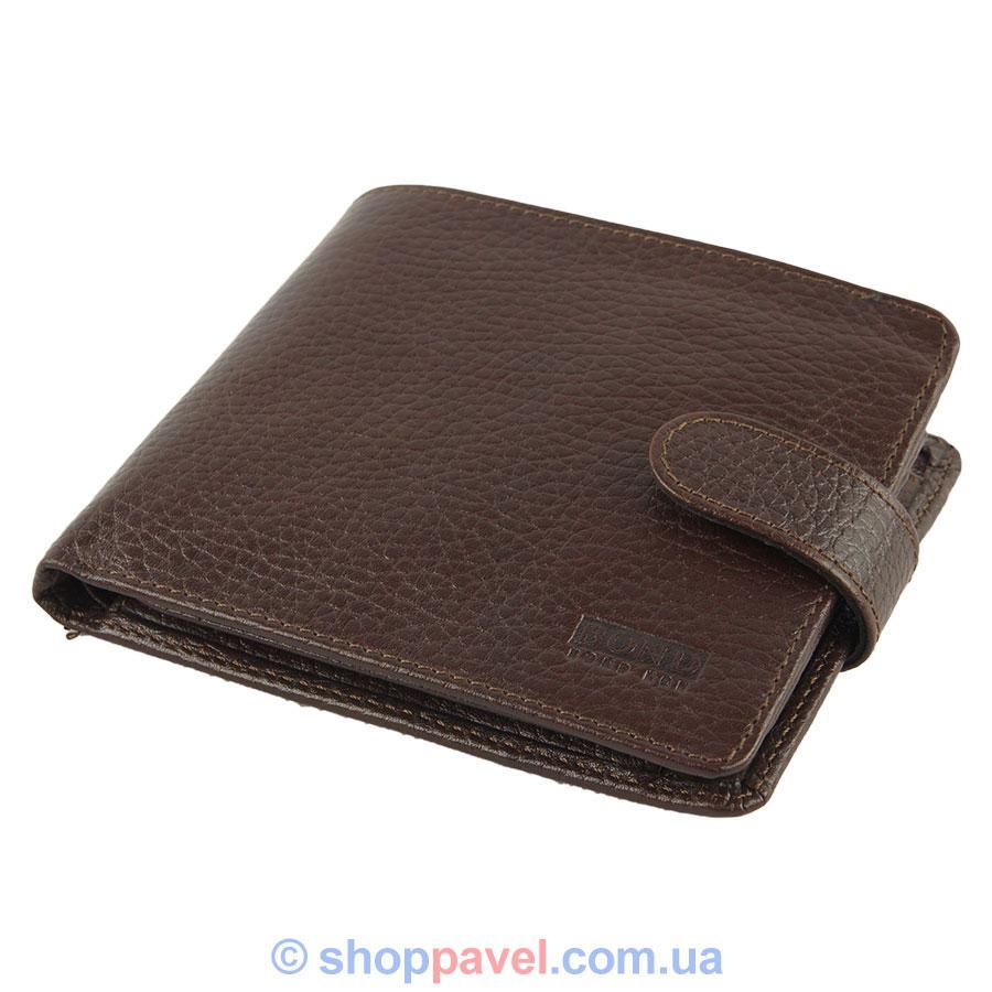 Гаманець чоловічий Bond 516-286 коричневого кольору