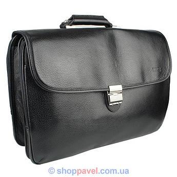 Чоловічий портфель Bond 1227-281 чорного кольору