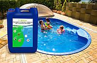 Перекись водорода, пергидроль для бассейна 50% Германия 10кг канистра для очистки бассейна, активный кислород, фото 1
