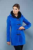 """Женское демисезонное пальто с капюшоном VOL ange """"Кобра"""""""