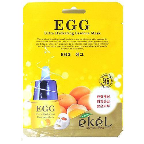 Корейская тканевая маска с яичным желтком Ekel egg mask