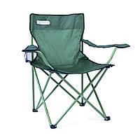 Туристическое раскладное кресло Spokey Angler (original) 120кг, с подстаканником, стул складной кемпинговый с