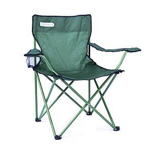 Туристическое раскладное кресло Spokey Angler 120кг 839632, стул складной кемпинговый