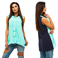 Рубашка женская летняя (цвета) АНД226
