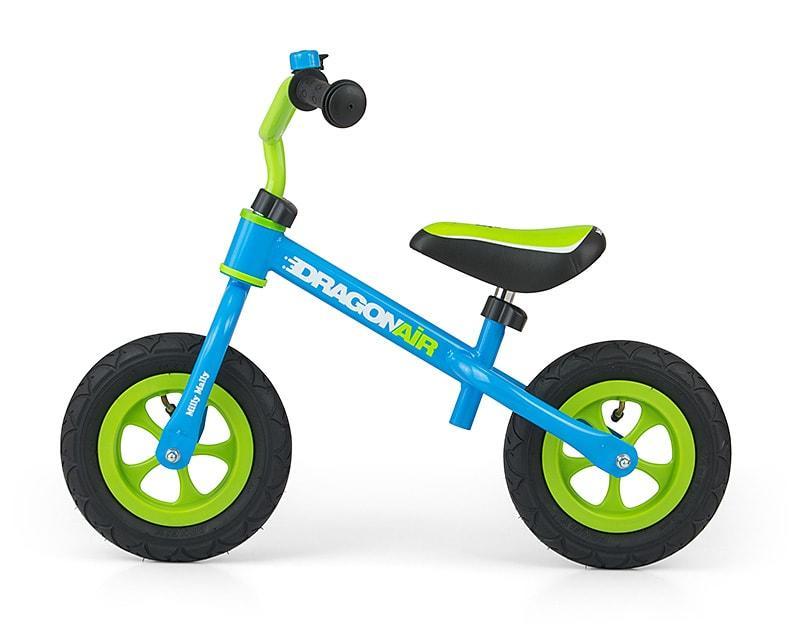 Беговел Dragon AIR с надувными колесами Milly Mally (синий)