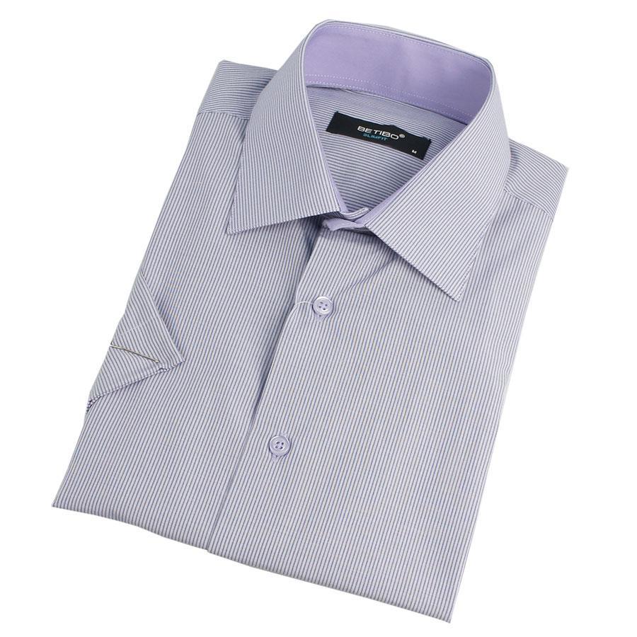 Сорочка  чоловіча  в смужку Betibo 0310 H Slim